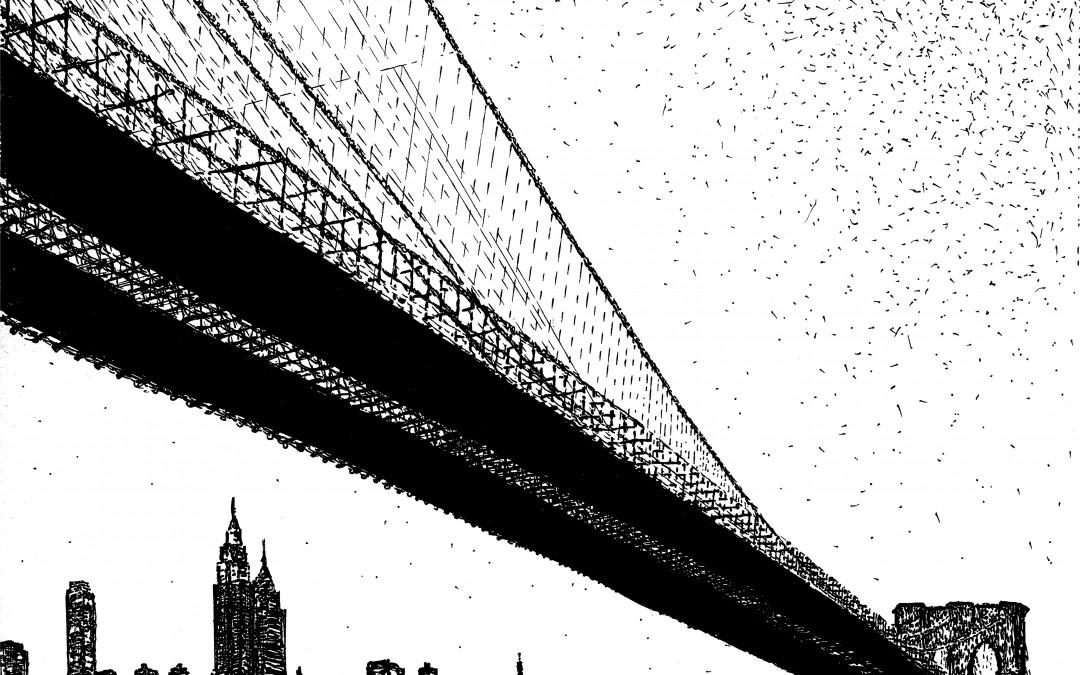 Brooklyn Bridge Noctural