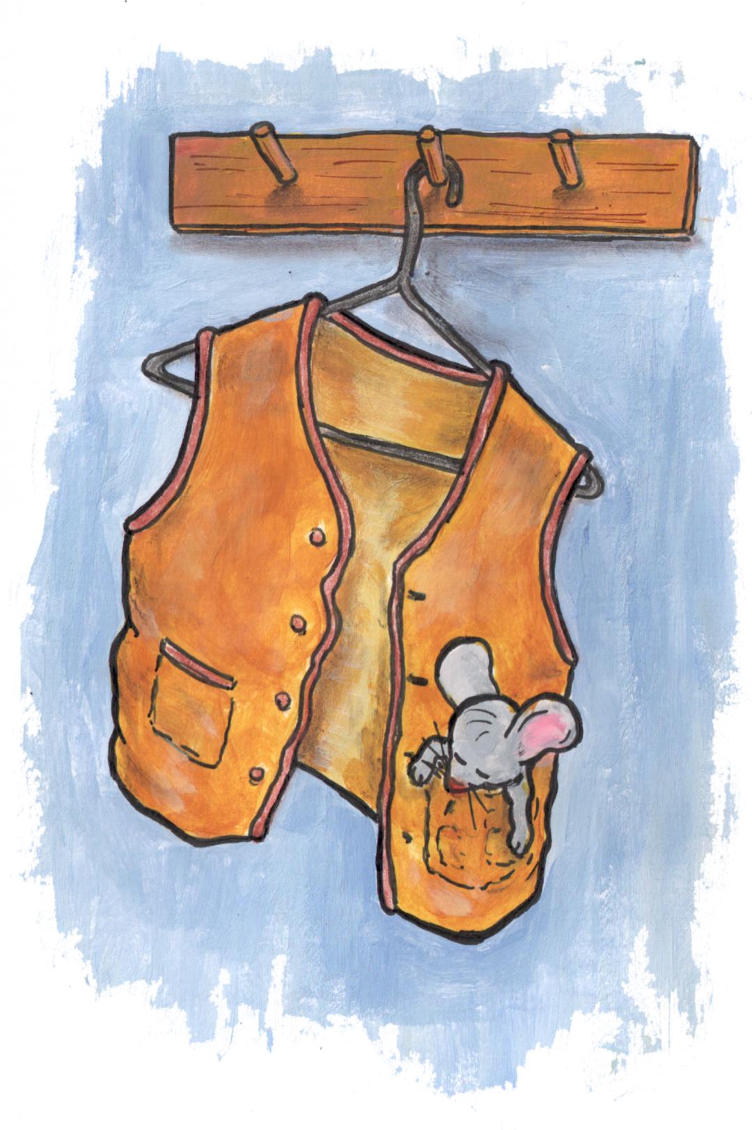 Murfy in vest pocket