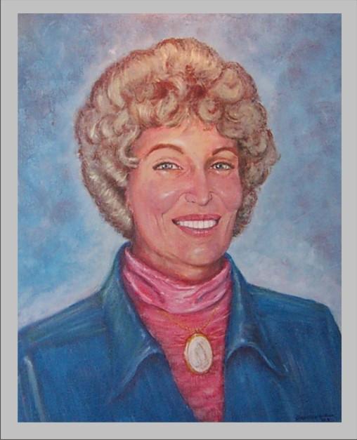 Barbara Shain Painting