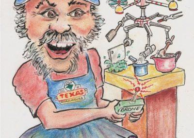 Brian caricature