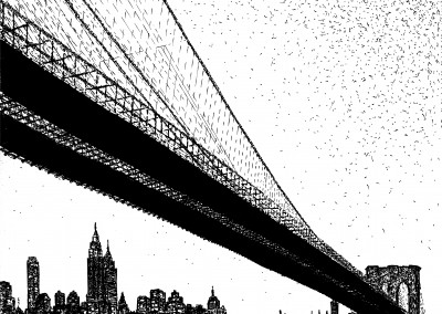 Brooklyn Bridge Noctural