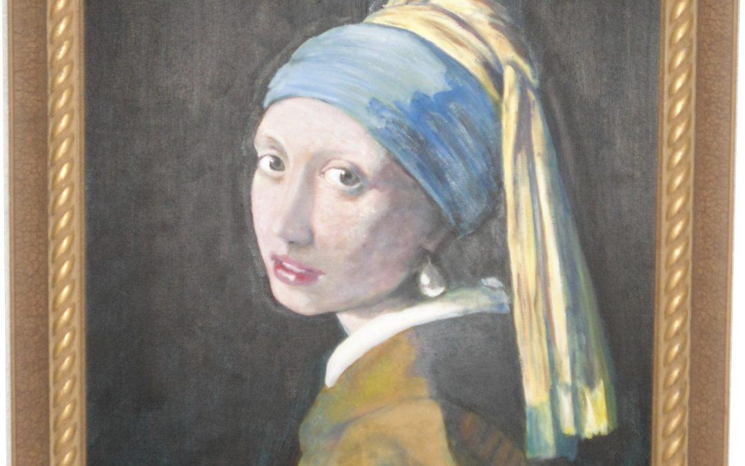 Pearl Earring Vermeerish